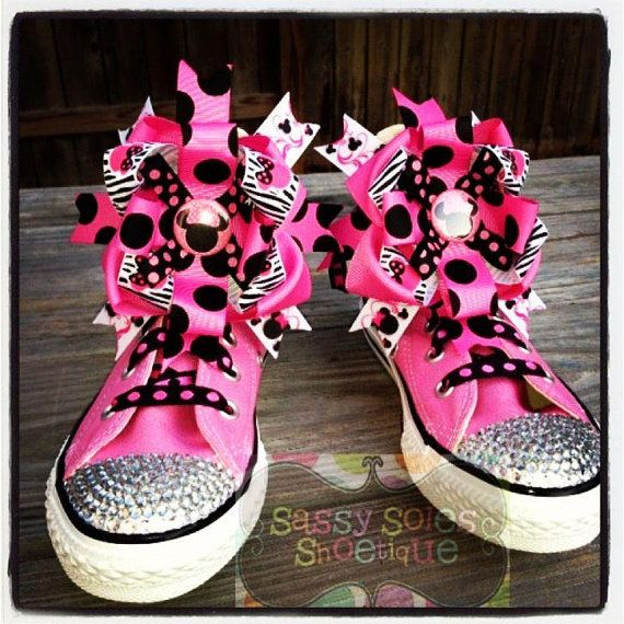 1458f61c5763 Customized Bling Converse by SassySolesShoetique on Etsy