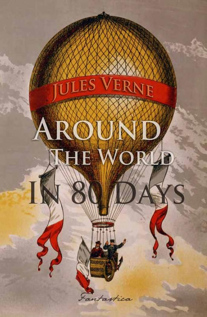 848 Jules Verne Around The World In Eighty Days With Images