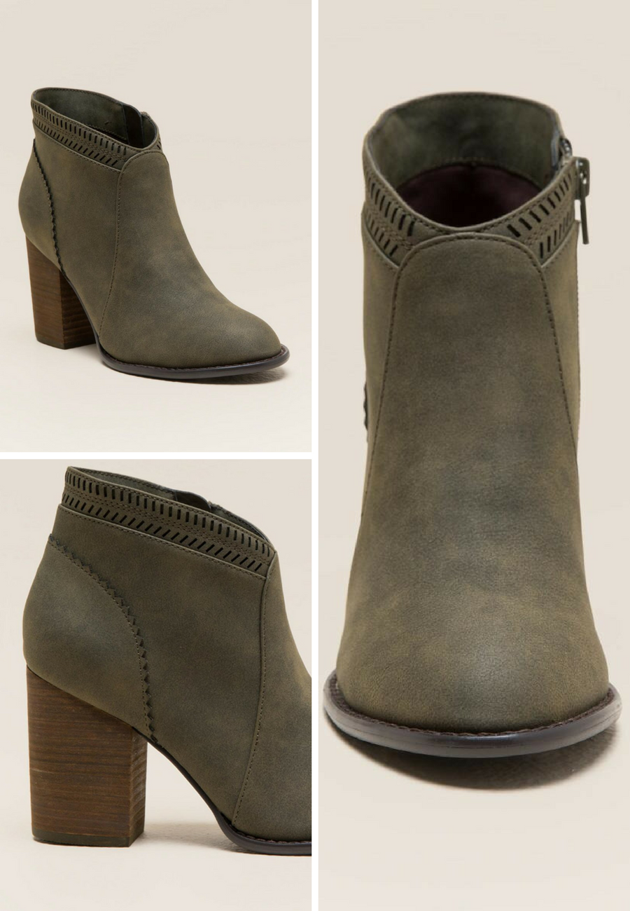 Chantel Restricted Ankle Boots in Olive - These would be really cute with  skinny jeans. Fall Fashion  143c730e7c