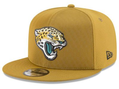 Jacksonville Jaguars New Era 2017 NFL On Field Color Rush 9FIFTY Snapback  Cap 43f10b75e