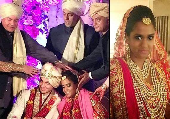 Arpita Khan Wedding Jewelry Exclusive Wedding Celebrity Weddings Wedding Pictures