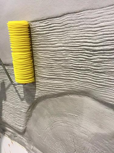 Roller Design Holzfasern 0021 Dekorative Wandmalereien Felsen Rollputz