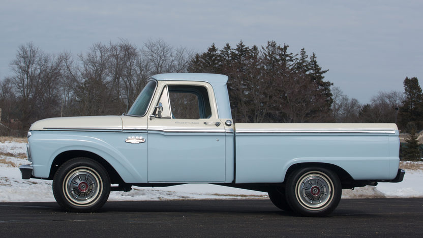 1966 Ford F100 Pickup T186 Houston 2016 in 2020 (With