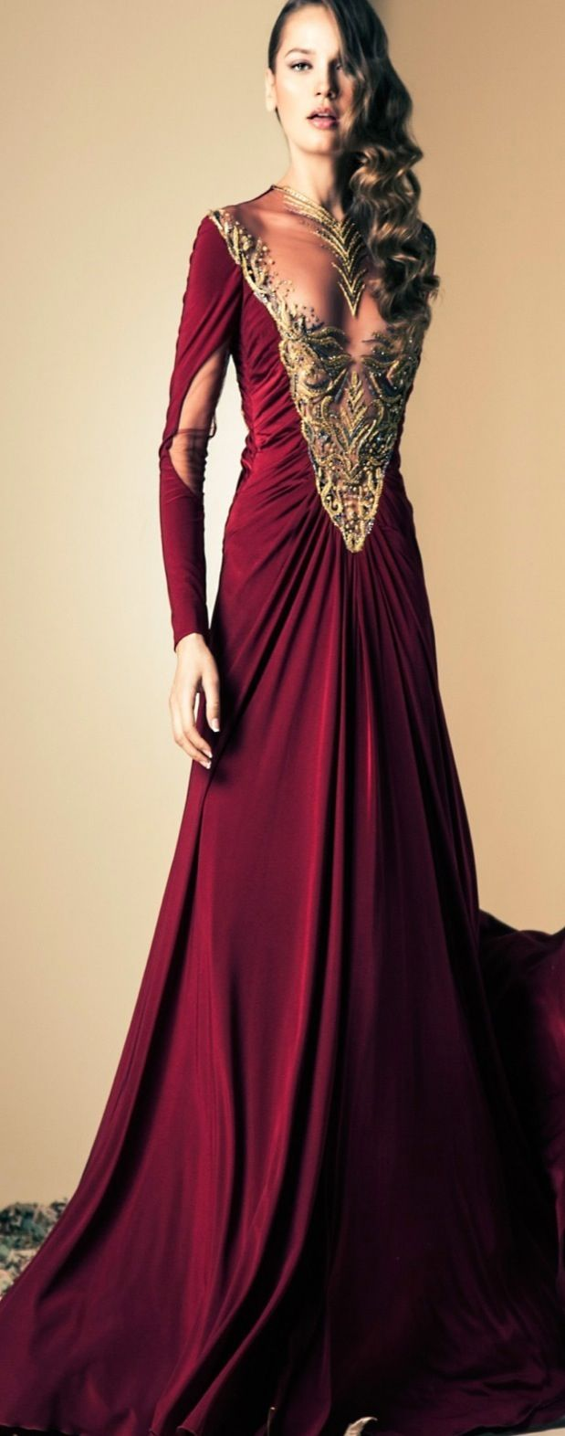 Ziad nakad fall couture collection wow this dress reminds