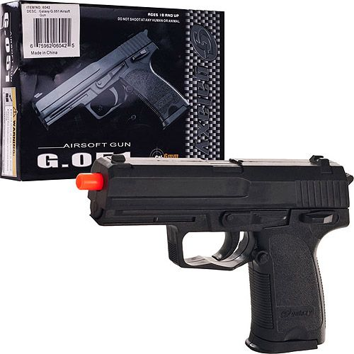 Whetstone Galaxy G 051 6mm Air Soft Pistol | How to Kit