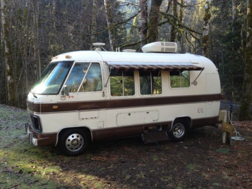 1977 Airstream Argosy 20 Vintage Motorhome With 454 Chevrolet V8