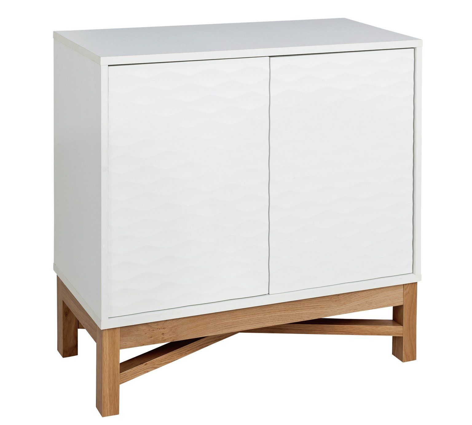 Buy Argos Home Zander Textured Small Sideboard White Oak Effect Sideboards Argos White Sideboard Small Sideboard Argos Home