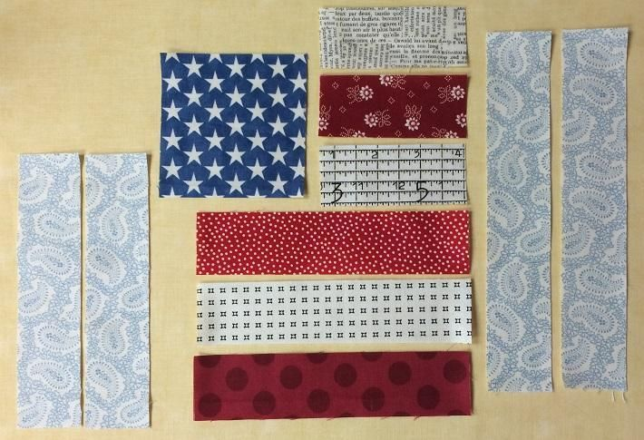 (7) Name: 'Quilting : Flag Day Quilt Block Tutorial