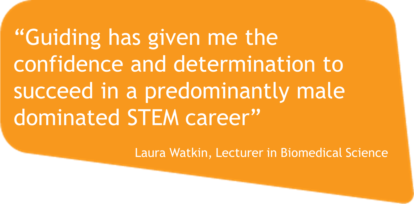 Real Role Model Laura Watkins Biomedical Science Lecturer
