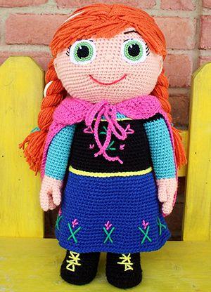 Winter Princess Kid Character Free Crochet Pattern By