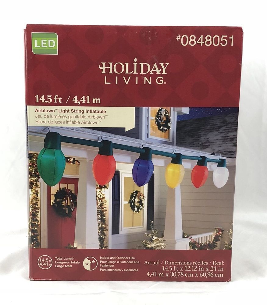 Gemmy Christmas Lights.Gemmy Holiday Living Giant Inflatable C9 Christmas Light