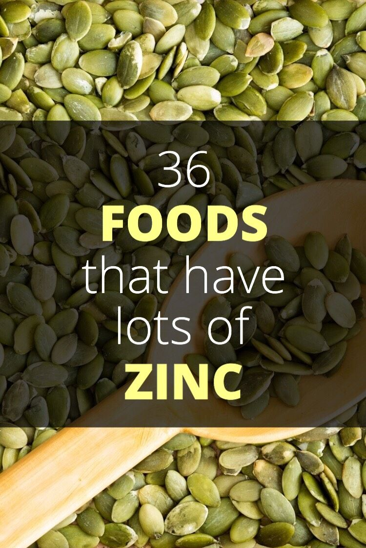 36 Foods High In Zinc Zinc rich foods, Foods high in