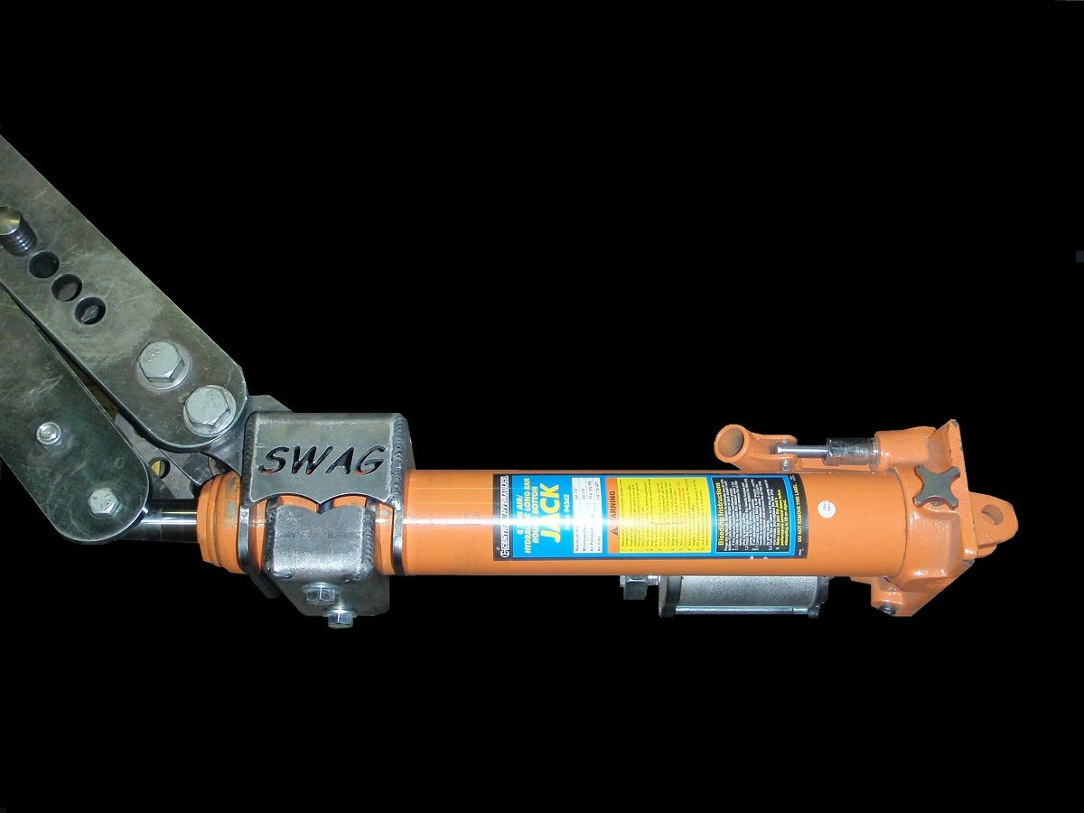 6tbrma Swag Formed Tubing Bender Air Hydraulic Ram Mount Hydraulic Ram Tube Hydraulic
