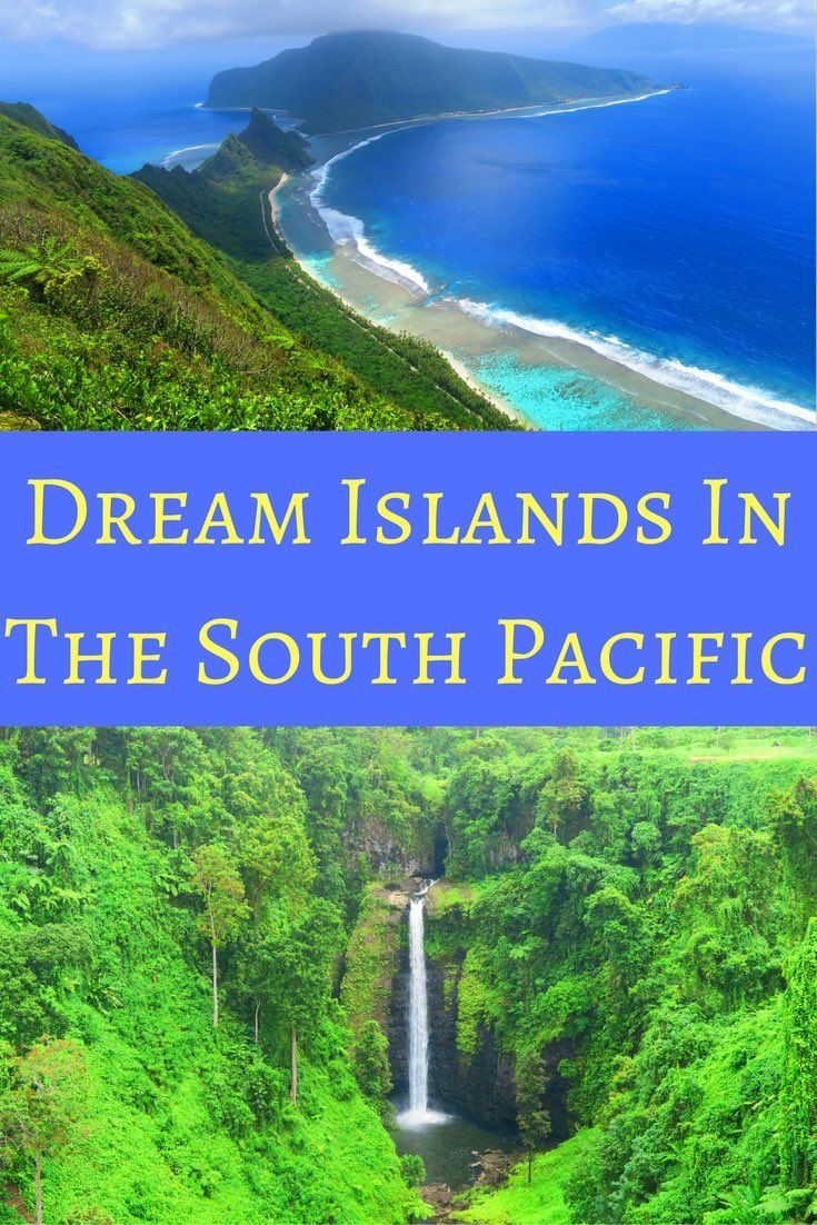 Top Tropical Islands In The South Pacific South Pacific - Top 10 tropical islands you have to visit
