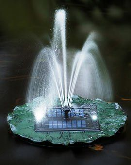 Floating Solar Lily Fountain with Battery and Led Lights by BeGreenWithSolar.com. $56.01. ###############################################################################################################################################################################################################################################################