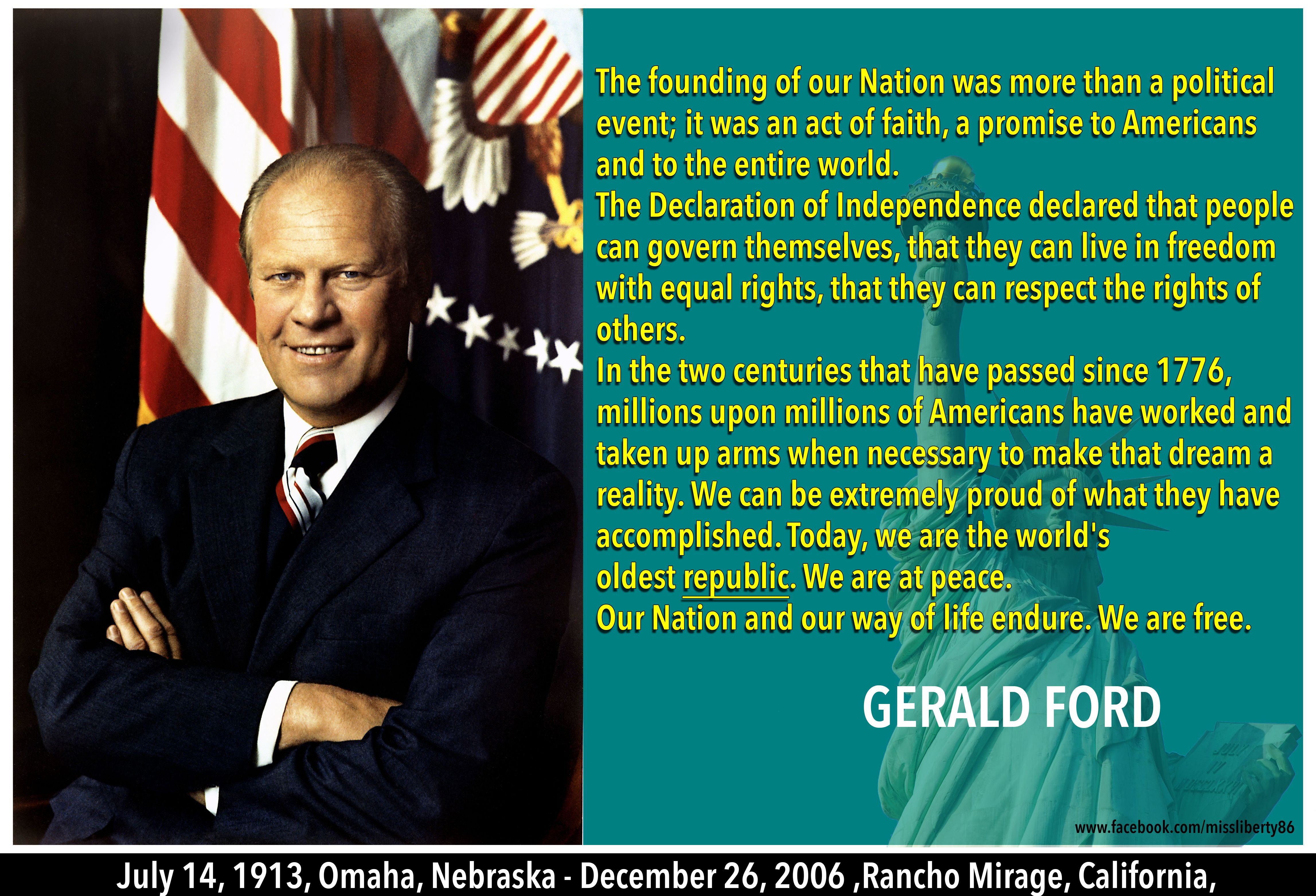Gerald Ford Quotes Amusing Doug Casey About Democracy  Quotes For Freedom  Pinterest