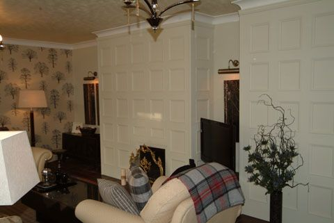 Feature Wall Living Room Ideas Mdf Panelling By Panels Uk