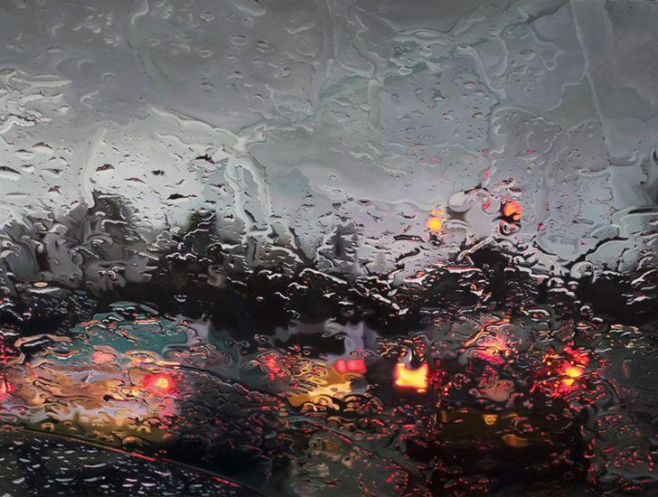 On a Rainy Evening