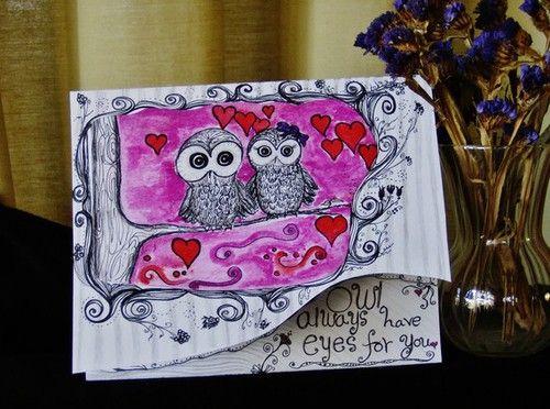Cute 'lil owls!