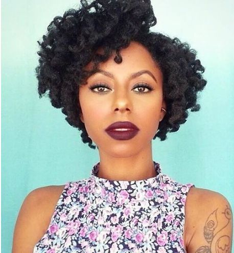 Astonishing 1000 Images About Natura On Pinterest Short Natural Hairstyles Short Hairstyles For Black Women Fulllsitofus