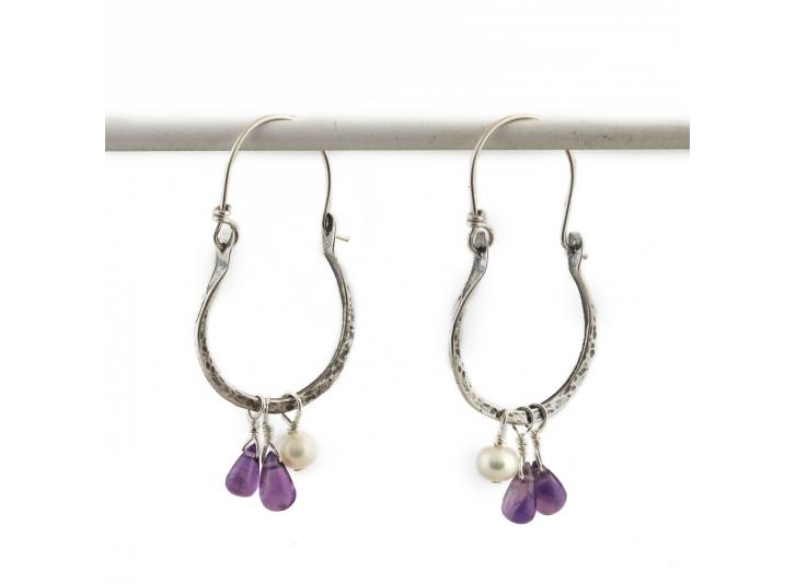 Lupine Earrings  by Jes MaHarry