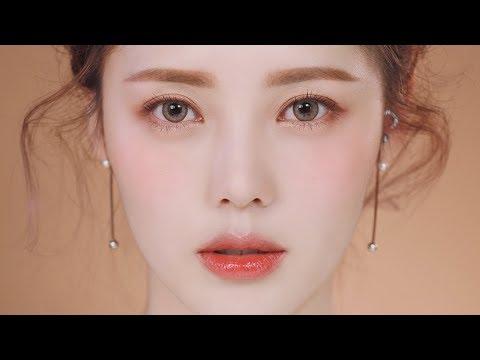 (2) Glowy Coral Makeup (With sub) 촉촉 코랄 메이크업 YouTube