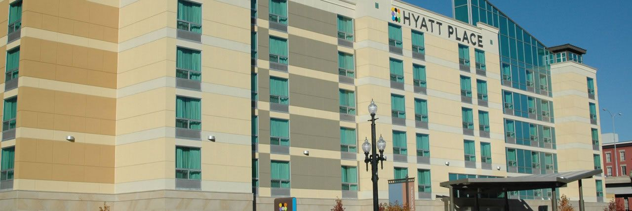 Hyatt Place Salt Lake City Downtown The Gateway Hotel Nice And Perfect Proximity To Red Iguana