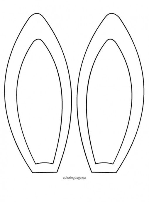 Easter Bunny Ears Template