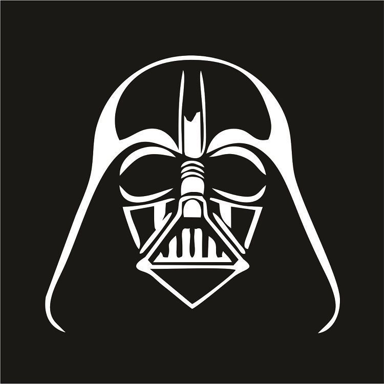 Wall Tattoo Star Wars Stormtrooper Helmet Oracal Matte Wall Sticker Decoration
