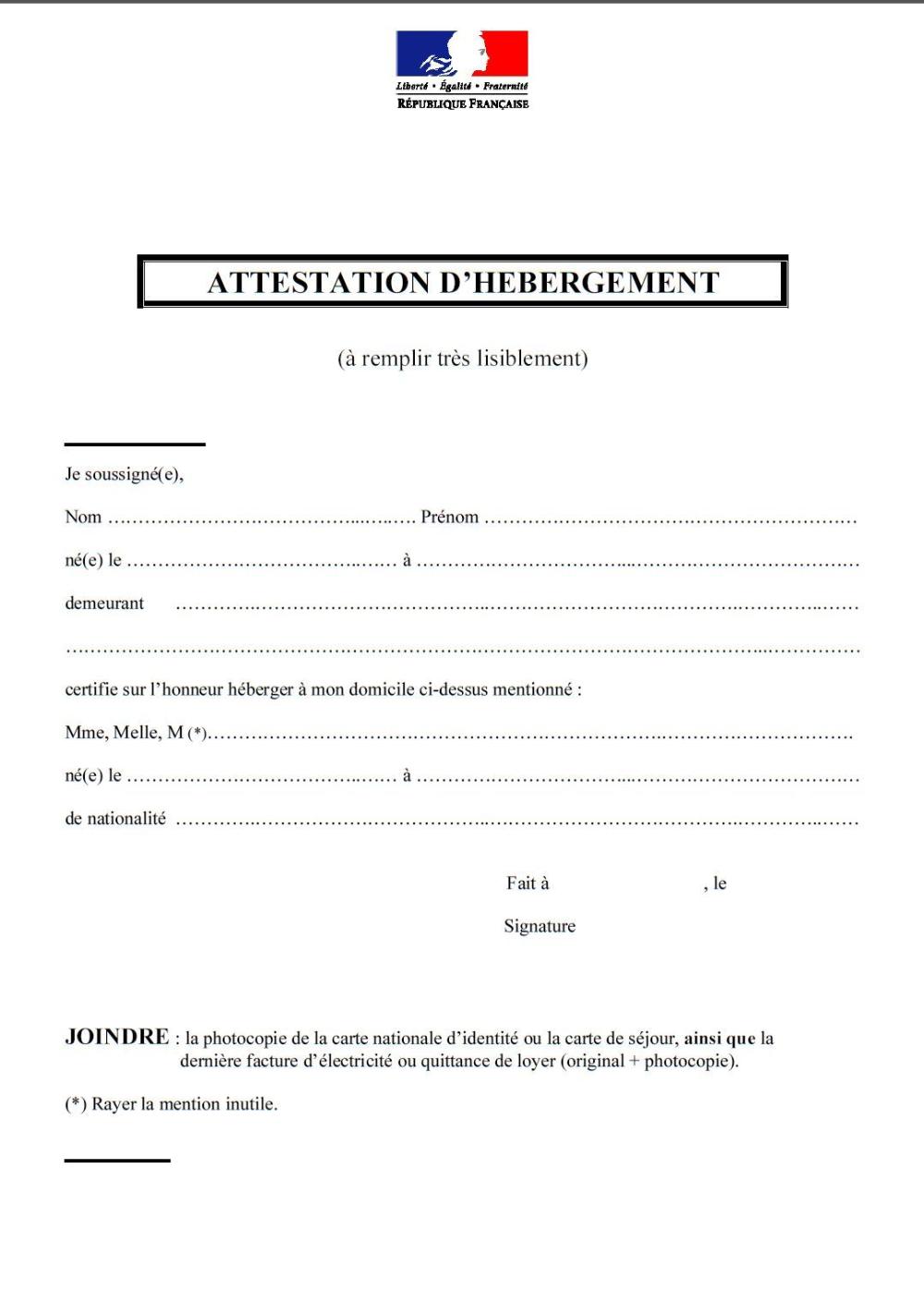Ajout documents v2 Modele attestation, Attestation