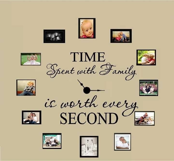 Time spent with family is worth every secondArrange some beautiful