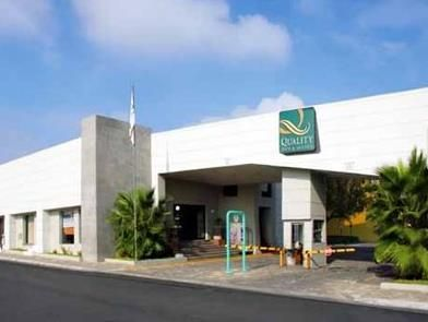 Saltillo Quality Inn and Suites Saltillo Eurotel Saltillo Mexico, North America Quality Inn and Suites Saltillo Eurotel Saltillo is conveniently located in the popular Sin Nombre de Col 25 area. Both business travelers and tourists can enjoy the hotel's facilities and services. Service-minded staff will welcome and guide you at the Quality Inn and Suites Saltillo Eurotel Saltillo. Designed for comfort, selected guestrooms offer television LCD/plasma screen, air conditioning, w...