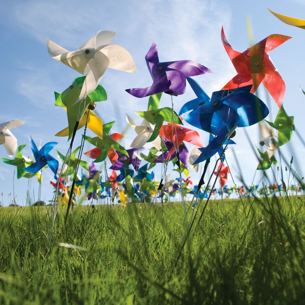 Love and Joy Pinwheels, Fun events, Event design
