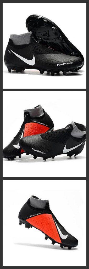 Scarpe Per Gli Uomini Nike Phantom Vision Elite DF FG Nero