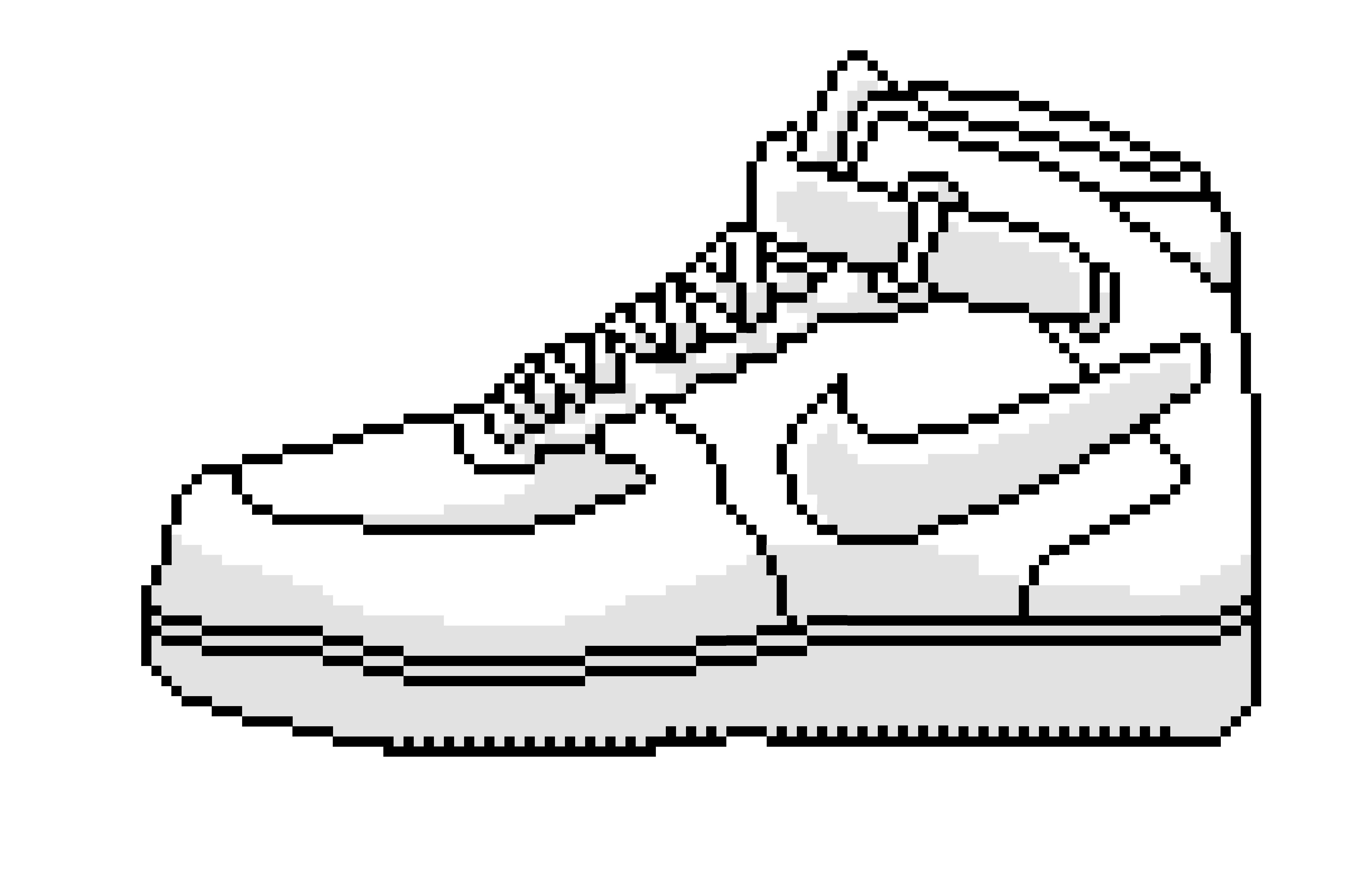8 Bit Air Force Ones (Nike) | Air force ones, 8 bit, White nikes