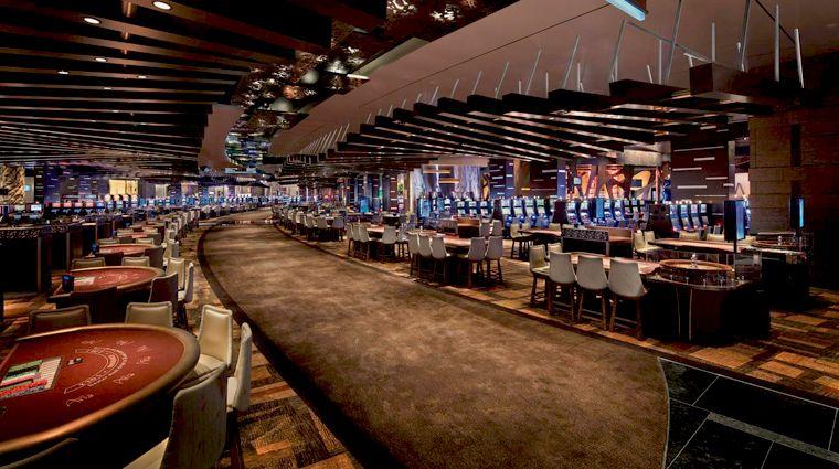 The Casino Floor At Aria Las Vegas Part Of The Citycenter Complex