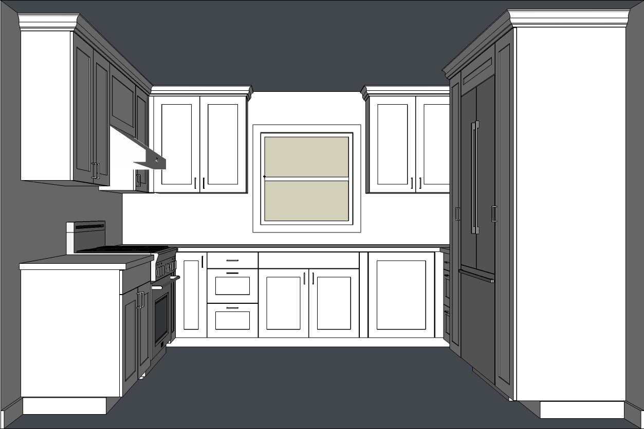 Designing Kitchen Cabinets With Sketchup Kitchen Cabinet Design