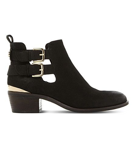 Leather · STEVE MADDEN Picos leather ankle boots.
