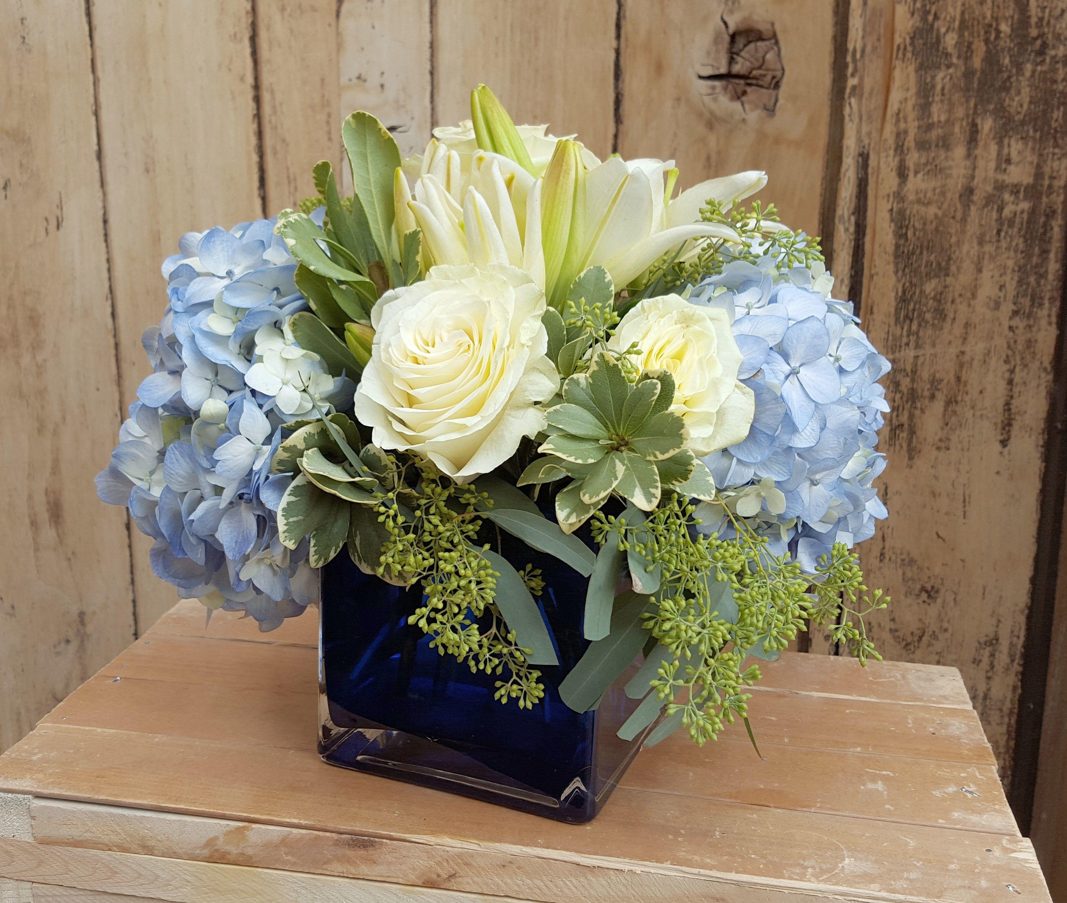 hydrangea flower arrangements delivery