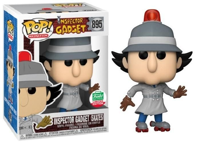 Inspector Gadget Funko Pop! Inspector Gadget (Skates) #895