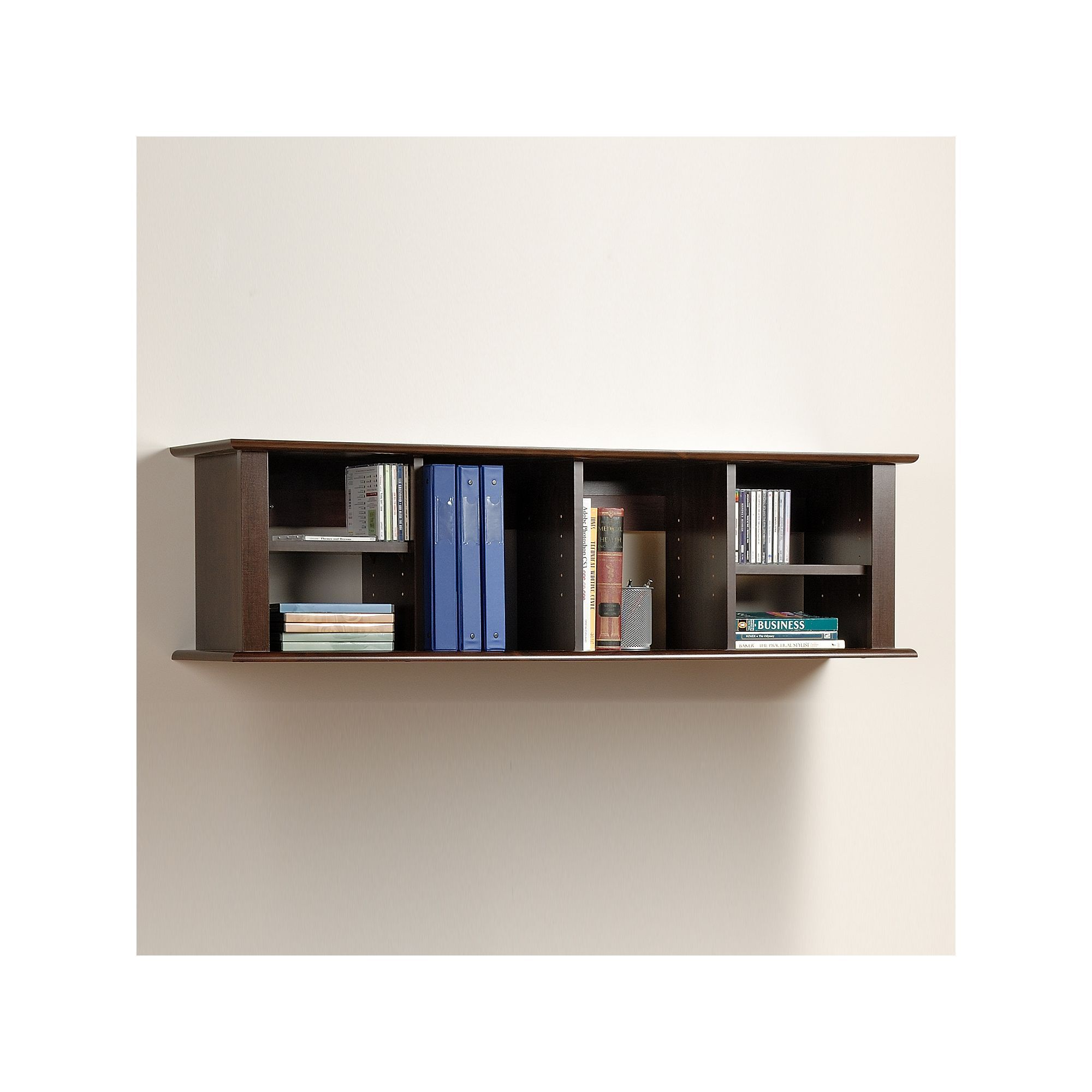 Prepac Wall Mount Desk Hutch Brown Wallmounts Pinterest