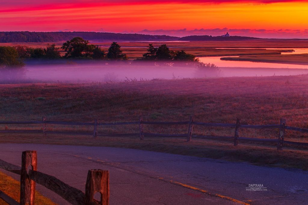 Beautiful Cape Cod September Part - 7: September Fog And Sunrise On Cape Cod National Seashore. National Parks Of  Massachusetts. Photo: Dapixara Https:--dapixara.com