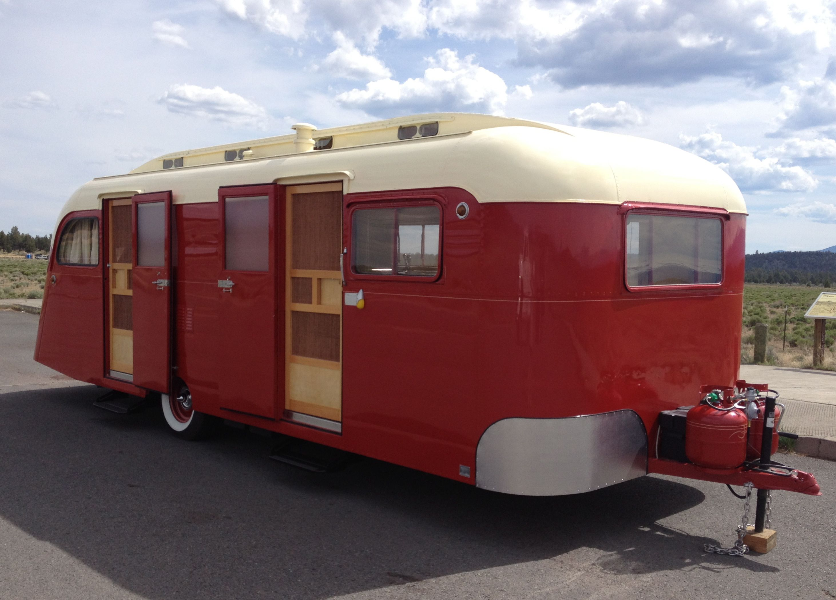 1950 Westcraft Coronado Vintage Travel Trailer Custom