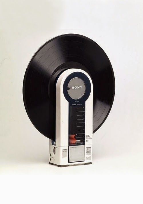 Flamingo, O Vinil Player Da Sony