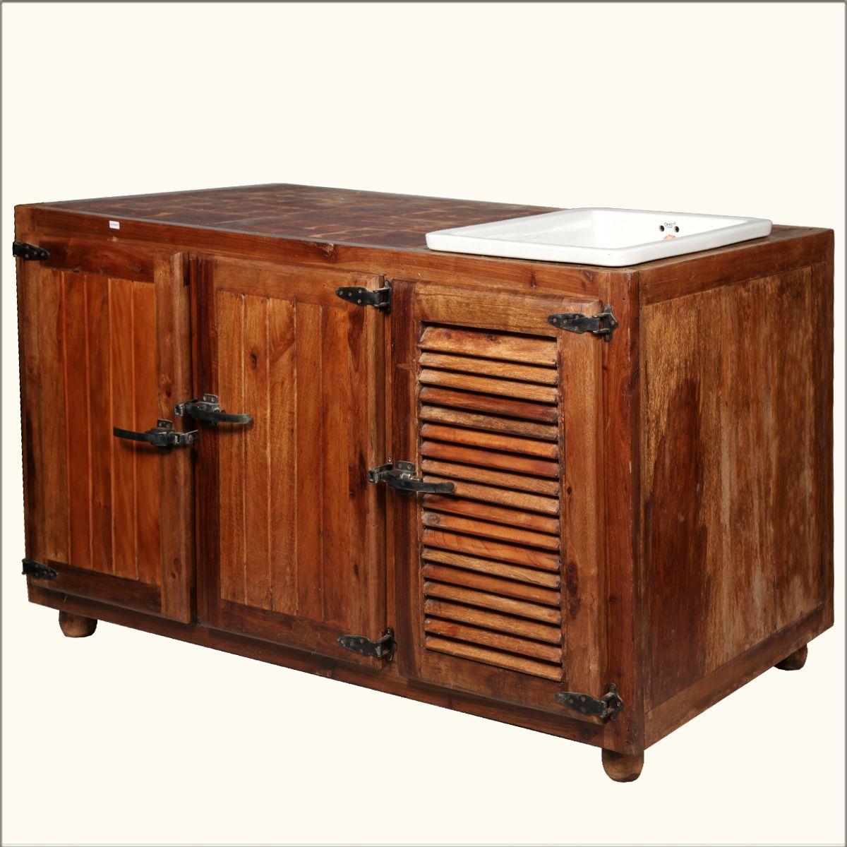 Old Fashioned Teak Wood Kitchen Sink Cabinet Old Fashioned Kitchen Rustic Storage Cabinets Wood Kitchen