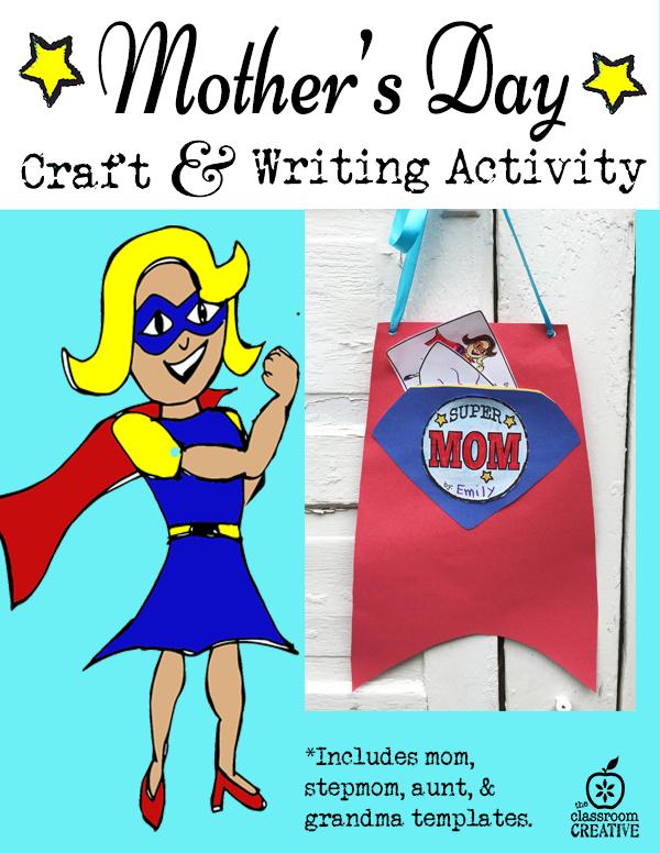 mother's day superhero craft
