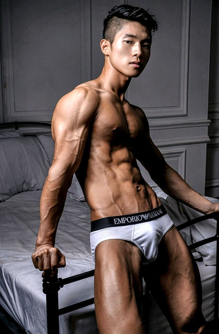 Asian Male Muscle
