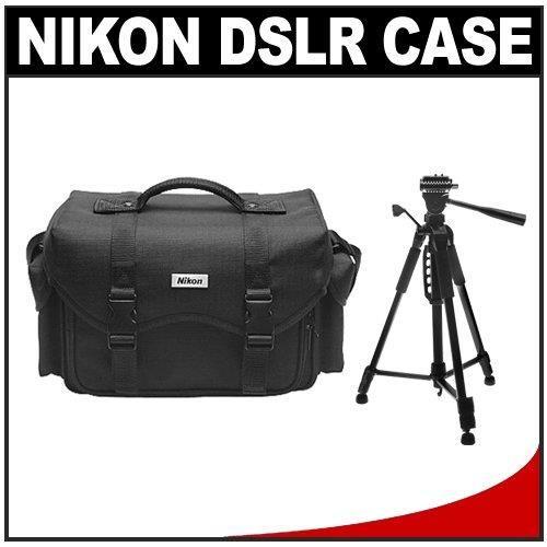 Nikon Digital & Film SLR System Case Gadget Bag + Deluxe Tripod for D40, D60, D3000, D3100, D5000, D5100, D7000, D300s, D3, D3s & D3x Cameras - http://yourperfectcamera.com/nikon-digital-film-slr-system-case-gadget-bag-deluxe-tripod-for-d40-d60-d3000-d3100-d5000-d5100-d7000-d300s-d3-d3s-d3x-cameras/