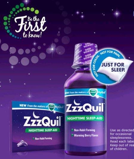 photo about Nyquil Coupons Printable known as Slumber Greater! ZzzQuil Snooze Assist 12ct Merely $0.74 At Emphasis