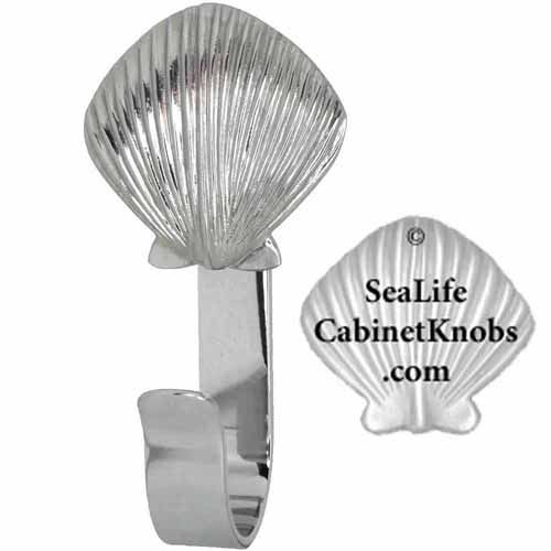 Pin On Scallop Shell Cabinet Knobs